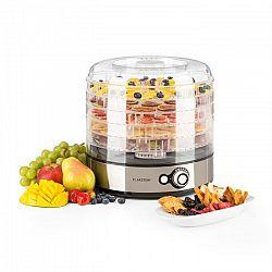 Klarstein Fruitower M sušička ovoce, 35–70 °C, 5 poliček, 200–240 W, ušlechtilá ocel