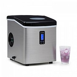 Klarstein ICE4-MR.-BLACK-FROST, 150 W, stroj na výrobu ledu,černý