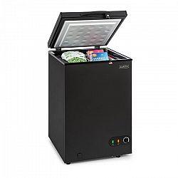 Klarstein Iceblokk 100, mrazicí box, volně stojící, 98litrový koš, uzamykatelný, energetická třída A +, černý