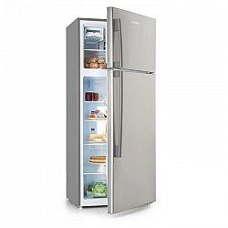 Klarstein Jumbo Cool, kombinovaná chladnička s mrazničkou, 510 l, 7 úrovní chlazení, stříbrná