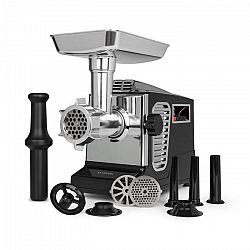 Klarstein Kraftprotz, elektrický mlýnek na maso, 700 W, měděný motor, ušlechtilá ocel, černý
