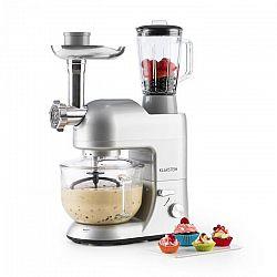 Klarstein Lucia Argentea 2G kuchyňský robot, mixér, mlýnek na maso, 1300W, bez BPA