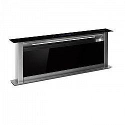 Klarstein Royal Flush Eco 90, odsavač par, 90 cm, 458 m³/h , A+, černý