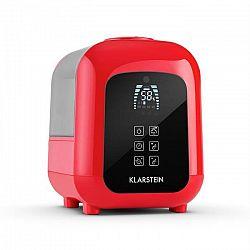 Klarstein Sevilla, ultrazvukový zvlhčovač vzduchu s ionizátorem a aromatickou funkcí, 4.5 l, červený