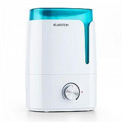 Klarstein Stavanger, zvlhčovač vzduchu, aromatická funkce, ultrazvuk, 3.5 l, bílý/tyrkysový