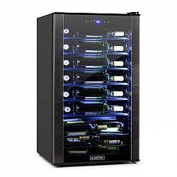 Klarstein Vinomatica, chladnička na víno, 95L, dotykové ovládání, 85W, 4-18°C, černá