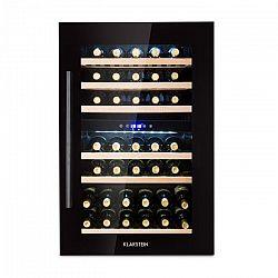 Klarstein Vinsider 35D Onyx Edition, vestavěná vinotéka, třída energetické účinnosti C