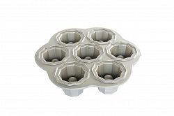 Forma na 7 plněných sušenek Bundt Nordic Ware stříbrná