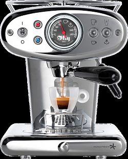 Kávovar Francis Francis X1 Iperespresso Home stříbrný Illy