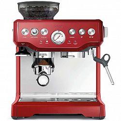 Sage Pákový kávovar BES870CRN Espresso červená