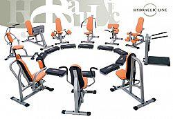 inSPORTline Sestava strojů pro kruhový trénink - oranžová