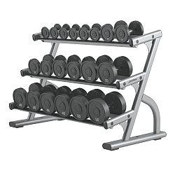Life Fitness Optima 3-Tier Dumbbell Rack