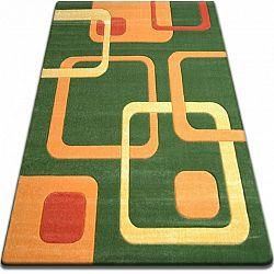 3kraft Kusový koberec FOCUS - F240 zelený čtverce