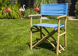 DekorStyle Skládací židle GURRA modrá