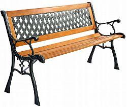 Kovaná zahradní lavice LETICIA BlueGarden
