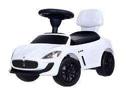 MULTISTORE Dětské odrážedlo auto Maserati bílé