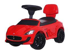 MULTISTORE Dětské odrážedlo auto Maserati červené