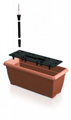 PlasticFuture Truhlík ALEXANDRO 60 cm se zavlažovacím systémem