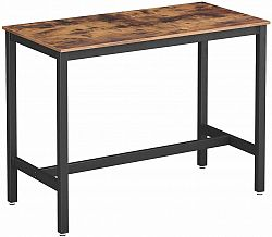 Rongomic Barový stolek VASAGLE FELIX hnědočerný