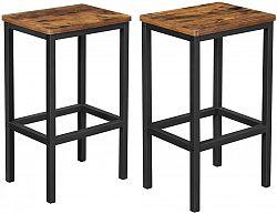 Rongomic Sada dvou barových židlí Vasagle Mera