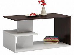 Shoptop Konferenční stolek DALLAS mix tmavě hnědý