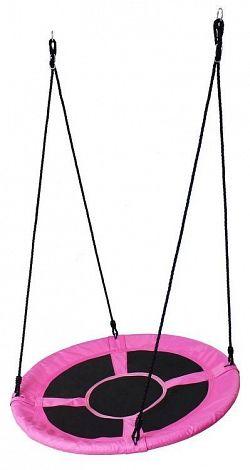 Zahradní houpačka Rolle 100 cm EcoToys růžová