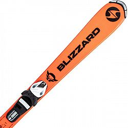 Blizzard FIREBIRD JUNIOR ORANGE + TYROLIA SLR 4.5 WHITE/BLACK  110 - Dětské sjezdové lyže
