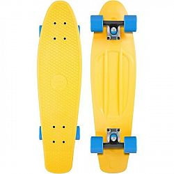 Long Island YELLOW22 - Plastový mini longboard