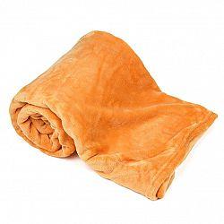 4Home Deka Soft Dreams oranžová,150 x 200 cm