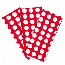4Home Kuchyňská utěrka Červený puntík, 45 x 70 cm, sada 3 ks