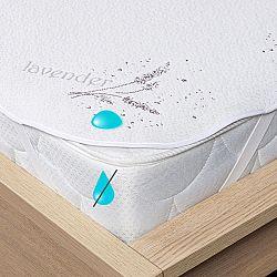 4Home Lavender Nepropustný chránič matrace s gumou, 200 x 200 cm