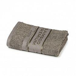 4Home Ručník Bamboo Premium šedá, 50 x 100 cm