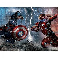 AG Art Dětská fototapeta XXL Captain America a Iron Man 360 x 270 cm