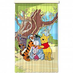 AG ART Dětský závěs Medvídek Pú, 140 x 245 cm