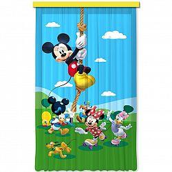 AG ART Dětský závěs Mickey & Minnie, 140 x 245 cm