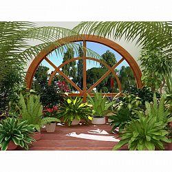 AG Art Fototapeta XXL Zimní zahrada 360 x 270 cm, 4 díly