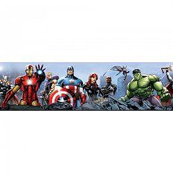 AG Art Samolepicí bordura Avengers, 500 x 14 cm