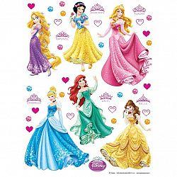AG Art Samolepicí dekorace Princezny, 30 x 30 cm