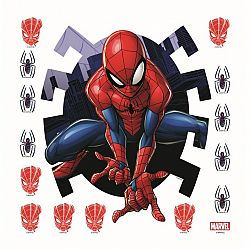 AG Art Samolepicí dekorace Spiderman, 30 x 30 cm