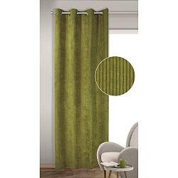 Albani Zatemňovací závěs s kroužky Brit zelená, 135 x 245 cm