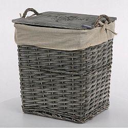 Altom Proutěný koš na prádlo 31 x 24 x 34 cm
