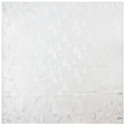 Altom Vánoční ubrus Silver Trees, 85 x 85 cm