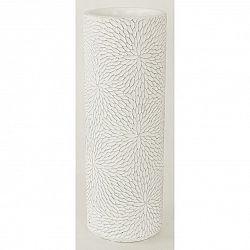Autronic BCO759827 Betonová váza Flower, bílá