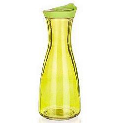 BANQUET Barevná skleněná láhev Misty 900 ml