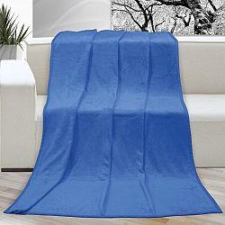 Bellatex Deka Korall micro modrá, 150 x 200 cm