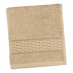 Bellatex froté ručník Proužek tmavě béžová, 50 x 100 cm