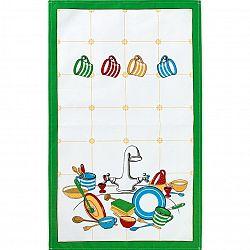 Bellatex Kuchyňská utěrka Hrnečky, 40 x 70 cm