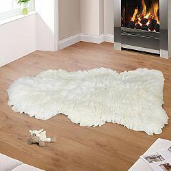 Bellatex Vlněná předložka Kožešina bílá, 110 - 120 cm