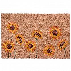BO-MA Kokosová rohožka Slunečnice, 40 x 60 cm