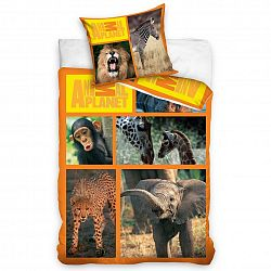 Carbotex povlečení Animal Planet - Safari 140x200 70x80, 140 x 200 cm, 70 x 80 cm